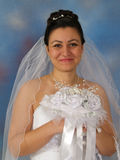 Portrait of bride Royalty Free Stock Image