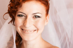 Portrait of bride Royalty Free Stock Photo