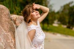 Portrait of the bride Stock Images