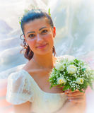 Portrait of a bride Royalty Free Stock Images