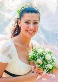 Portrait of a bride Stock Photos