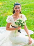 Portrait of a bride Royalty Free Stock Photos