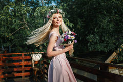 Portrait of the bride Royalty Free Stock Photo
