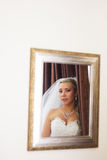 Portrait of bride Stock Photography