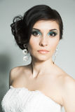 Portrait of bride Royalty Free Stock Images