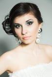 Portrait of bride Stock Image