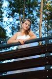 Portrait of Bride Stock Photo