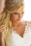 Portrait of a bride Stock Image