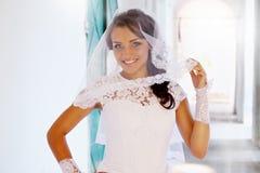 Portrait of bride Royalty Free Stock Photo
