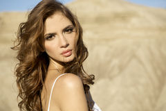 Portrait brunette Stock Photo