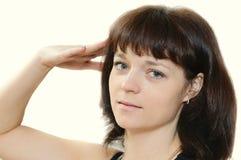 Portrait of brunette Royalty Free Stock Image
