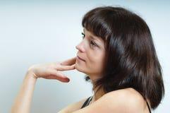 Portrait of brunette Royalty Free Stock Images