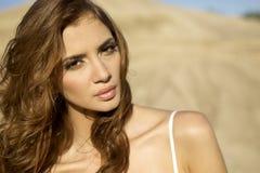 Portrait brunette Royalty Free Stock Photos
