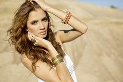 Portrait brunette Stock Photography