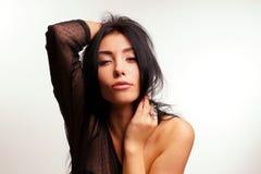 Portrait of a brunette Stock Image