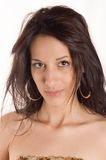 Portrait Brunette stockfotografie