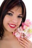 Portrait of the brunette Stock Image
