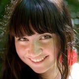 Portrait of brunette girl Stock Image