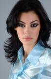 Portrait of brunette woman Royalty Free Stock Image