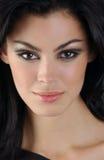 Portrait of brunette woman Royalty Free Stock Photos
