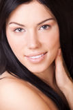 Portrait brunette woman Royalty Free Stock Images