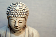 Portrait of Buddha Stock Images