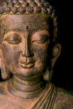 Portrait of a Buddha statue Royalty Free Stock Images