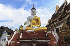 Portrait of Buddha in temples in Chiangmai Stock Images