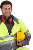 Portrait of builder Royalty Free Stock Photos