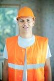 Portrait of builder Stock Photos