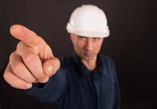 Portrait of a builder Stock Photos