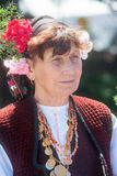 Portrait Bulgarian woman Royalty Free Stock Images