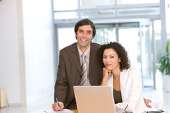 Portrait of business colleagues Stock Image