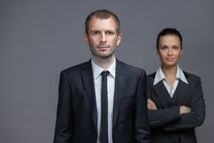 Portrait of business colleagues Royalty Free Stock Image