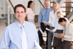 Portrait of business executives Royalty Free Stock Images