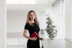 Portrait of business girl Royalty Free Stock Photo
