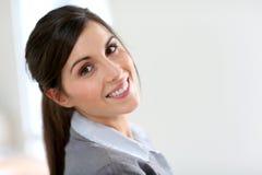 Portrait of business girl Stock Photo