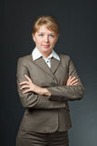 Portrait of a business lady Stock Image