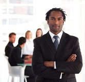 Portrait of a business leader Royalty Free Stock Image