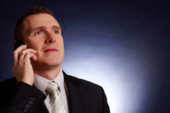 Portrait of business man Royalty Free Stock Image