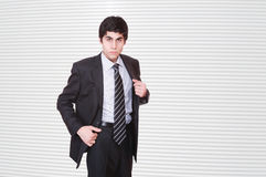 Portrait of a business man Stock Images
