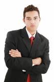 Portrait of a business man Stock Photos