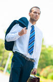 Portrait of business man Royalty Free Stock Photography