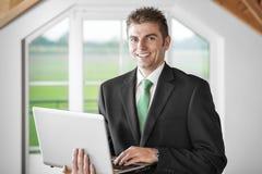 Portrait Business man Stock Images
