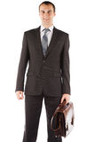 Portrait of a business man isolated on white background Stock Image