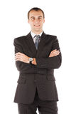 Portrait of a business man isolated on white background Royalty Free Stock Photography
