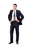 Portrait of a business man isolated Stock Photo
