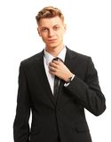 Portrait of business man Royalty Free Stock Images