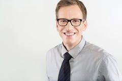 Portrait of business man Stock Photos