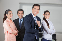 Portrait of business office team royalty free stock photos